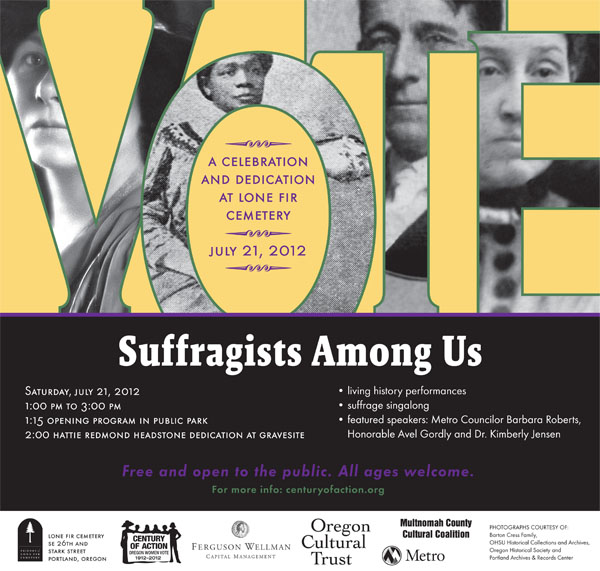 Suffragists Among Us